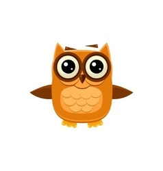 Brown Owl Wants A Hug vector image vector image