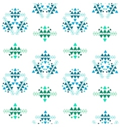 Colorful ethnic seamless pattern design vector image