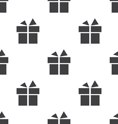 gift seamless pattern vector image
