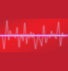 Sound waves oscillating glow neon light spectrum vector