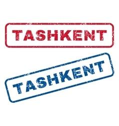 Tashkent rubber stamps vector