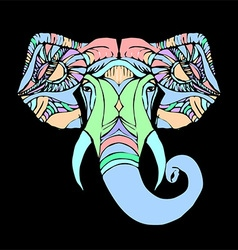 Head ganesha vector
