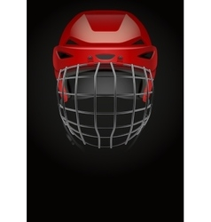 Dark background of ice hockey vector