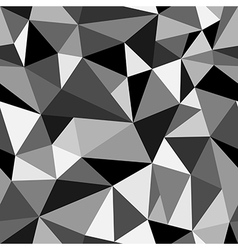 Abstract seamless rumpled triangular pattern vector
