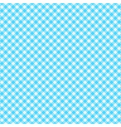 Classic Gingham pattern vector image vector image