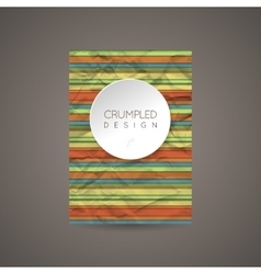 Design template for banners cards flyers vector