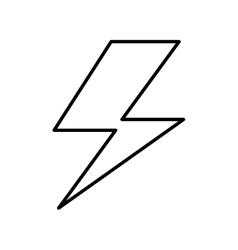 Ray energy symbol icon vector