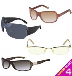 women's glasses vector image vector image