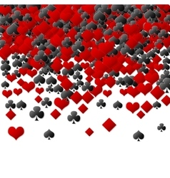 Abstract poker background vector