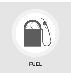 Fuel flat icon vector