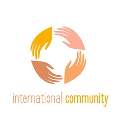 International community vector