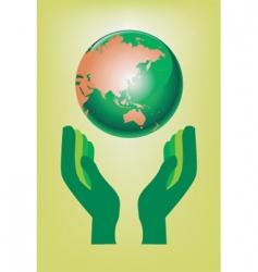 global ecology vector image vector image