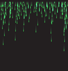 Green firework elements good for festival and vector