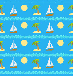 ongoing pattern travel background vector image