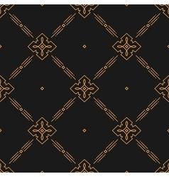 Thin line art seamless pattern minimal design vector