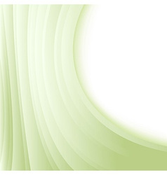 Green waves folder - abstract background vector image