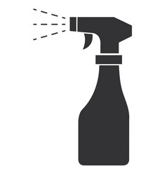 spray bottle isolated icon vector image