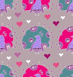 Bird pattern28 vector