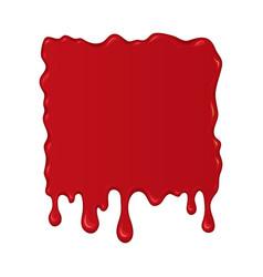 Blood splash or drop vector
