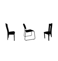Set of modern and antique furniture comfortable vector