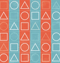 Abstract geometric game signs seamless texture vector