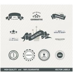Labels retro 2 vector