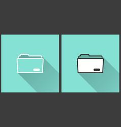 Folder - icon vector