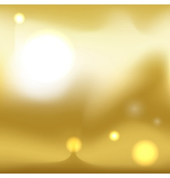 Gold texture Golden gradient smooth material vector image vector image