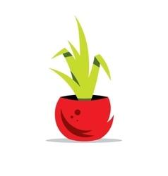 Houseplant Cartoon vector image vector image