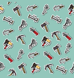 Instruments icons pattern vector