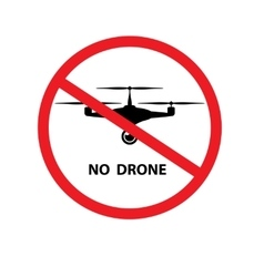 No drone background vector