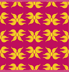 seamless abstract vintage bright pattern vector image vector image
