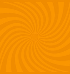 Spiral design background from ray stripes vector
