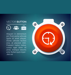 Abstract web user interface infographics vector
