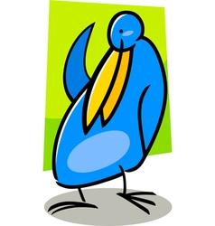 doodle bird vector image vector image