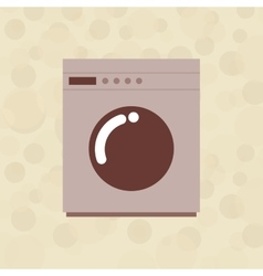 Laundry equipment design vector