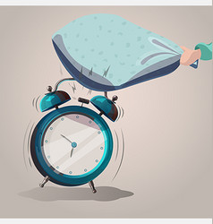Alarm clock sleep vector