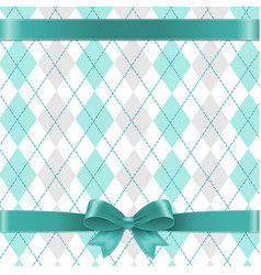 Argyle background vector
