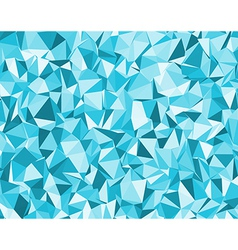 background with blue triangles vector image