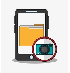 Smartphone and digital marketing design vector
