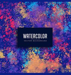 Watercolor splatter grunge background vector