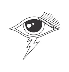 One eye of god vector