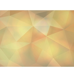 Stained Glass Abstract Triangles vector image