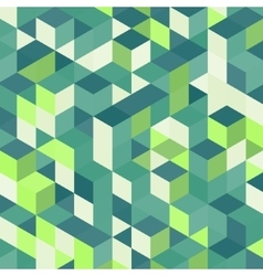 Abstract geometrical 3d colorful background vector