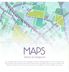 City map background vector