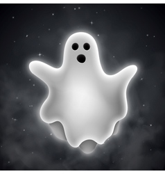 Ghost outdoors vector