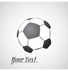 Soccer ball icon vector image vector image