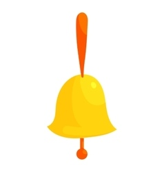 Ringing bell icon cartoon style vector