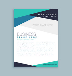 Minimal company brand brochure template vector