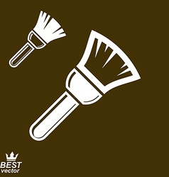 Stylized paint brush vector